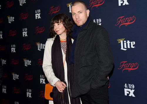 McGregor and Mavrakis at the FX Network's New York upfront event in April last year. (Image: AP)