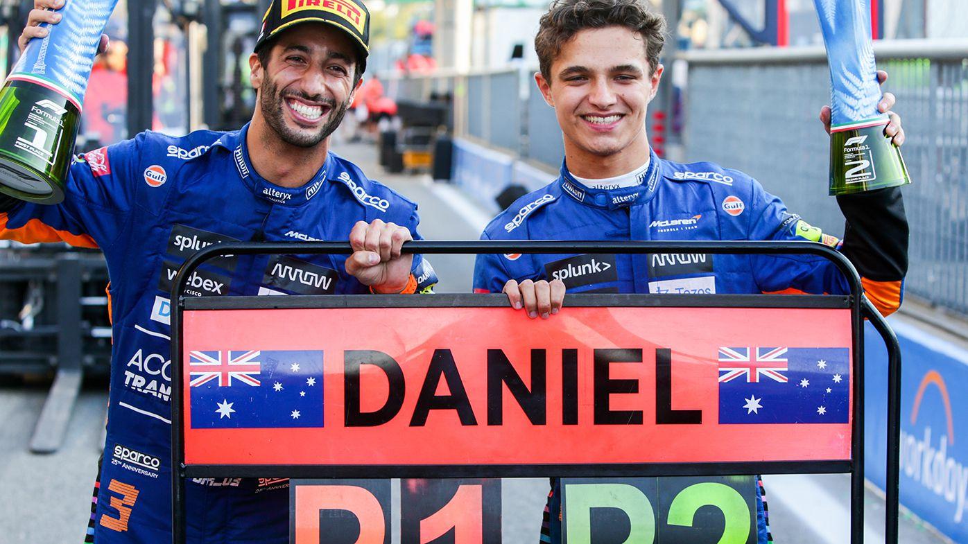F1 2021: Daniel Ricciardo's last lap at Monza a warning to teammate Lando Norris