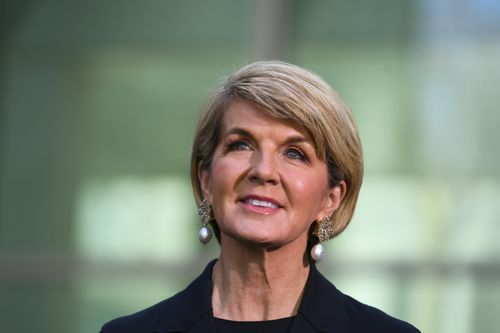 Ms Bishop didn't rule out a return to the ministry or a future leadership role. (AAP)