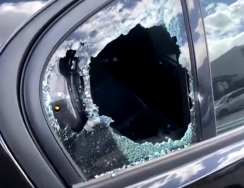 South-west Sydney baseball bat out car