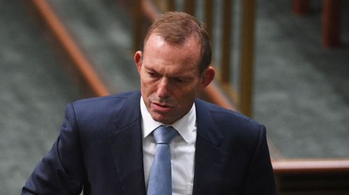Tony Abbott was not mentioned during the interview. (AAP)