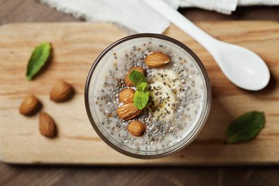 <strong>Chia seed pudding</strong>