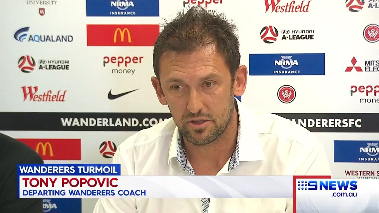 Popovic's shock A-League departure