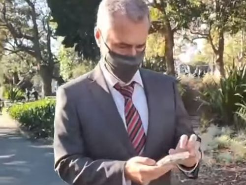 Journalist Robert Ovadia was allegedly assaulted and had his phone stolen.