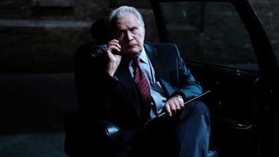 Martin Sheen on set of A West Wing Special to Benefit When We All Vote, which will premiere on HBO Max on October 15.