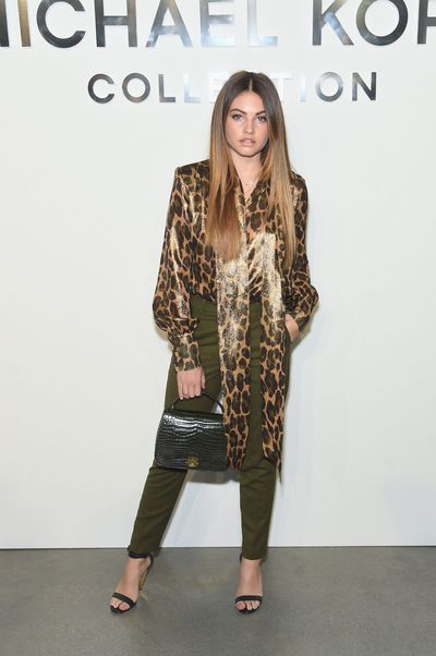 Thylane Blondeau at Michael Kors S/S' 18 show, March 2017