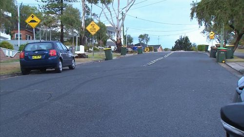 Neighbours reported hearing tyres screeching at the time of the theft. Picture: 9NEWS.