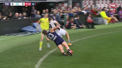Ryan Nyhuis didn't mean to hurt Robbie Gray in AFL tackle: Neale