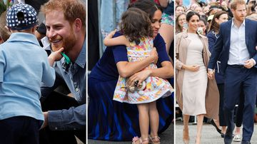 Tears, hugs and a baby bump - the best moments of the Royal tour