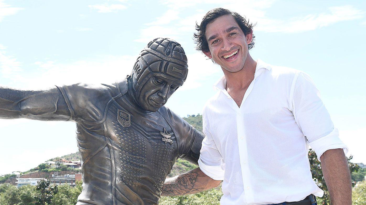 Johnathan Thurston statue unveiled at new North Queensland stadium