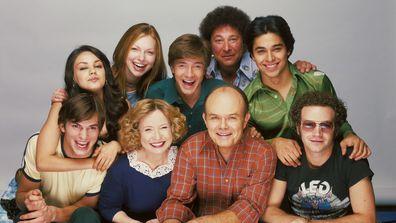 That '70s Show, Ashton Kutcher, cast