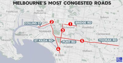 Melbourne's top 5 most infuriating roads