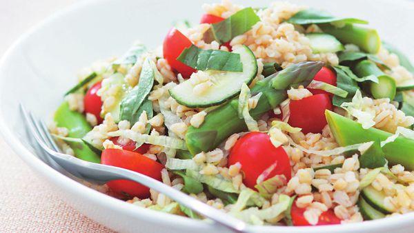 Pearl barley salad