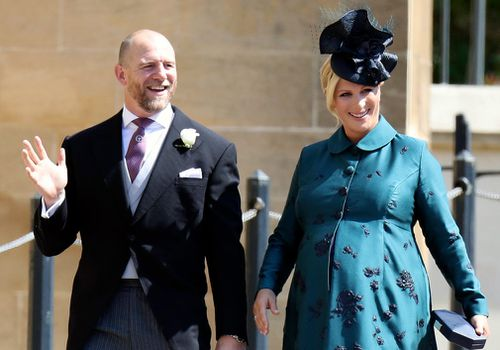The Queen's granddaughter Zara gave birth to her second child, weighing 4.2kg, at Stroud Maternity Unit in Gloucestershire on June 18. Picture: AP