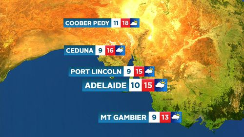 Today's weather forecast - 9News