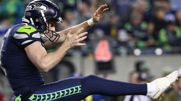 Dickson continues punting hot streak in Seattle win