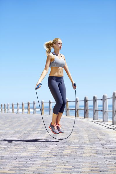<strong>Skipping rope - 24 minutes</strong>