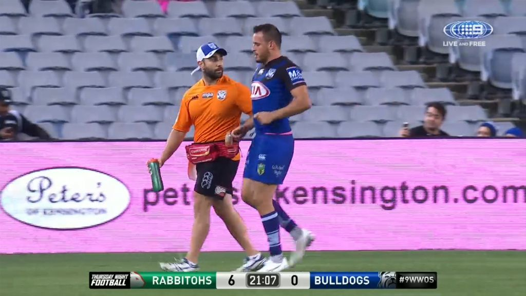 Reynolds injures calf