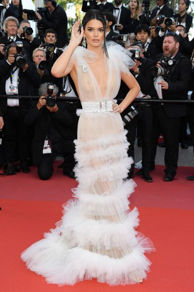 Kendall Jenner at the 71st annual Cannes Film Festival in May, 2018