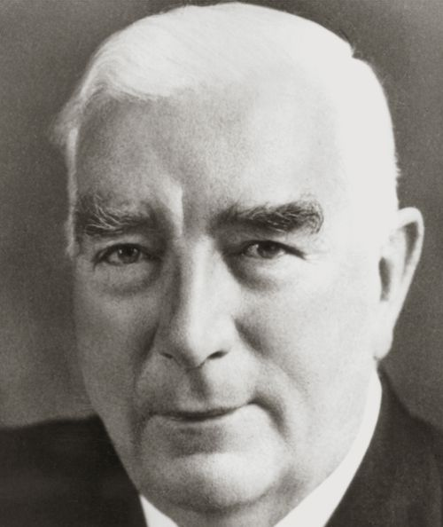 Wartime prime minster Sir Robert Menzies. (AAP)