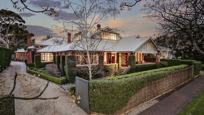 Grand 1920's Adelaide home fetches $3+ million