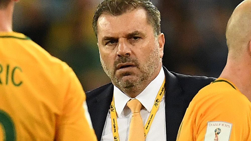Socceroos legend John Aloisi surprised by coach Ange Postecoglou exit talk
