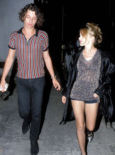 Kylie's image had a dramatic overhaul into sexy town once she started dating INXS frontman Michael Hutchence.