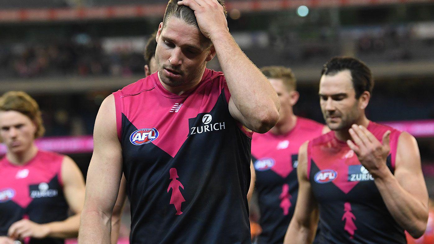 Jesse Hogan reveals how Nat Fyfe helped him decide to join Fremantle in AFL Trade Period