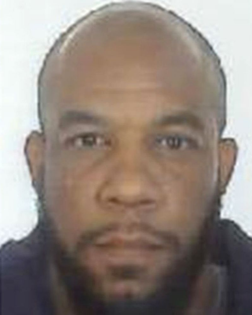 Khalid Masood was seen planning his attack i n CCTV footage shown at the inquest.