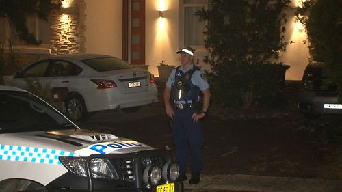 The woman suffered minor injuries. (9NEWS)