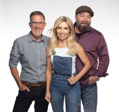 Peter Walsh, Cherie Barber and Lucas Callaghan