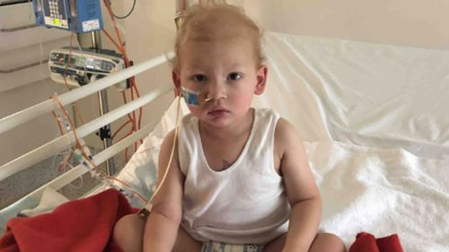 Marko had surgery to remove the initial tumour but several others have returned.