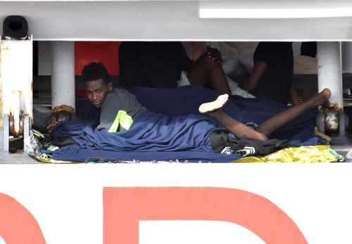 150 migrants were rescued in the Mediterranean earlier this month but, after a 10 day wait, were not allowed to disembark by Italy's government until Ireland, Albania and the Vatican agreed to accept them