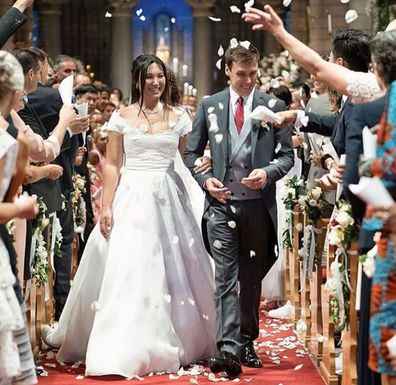 Monaco royal wedding: Marie Chevallier wears three wedding gowns