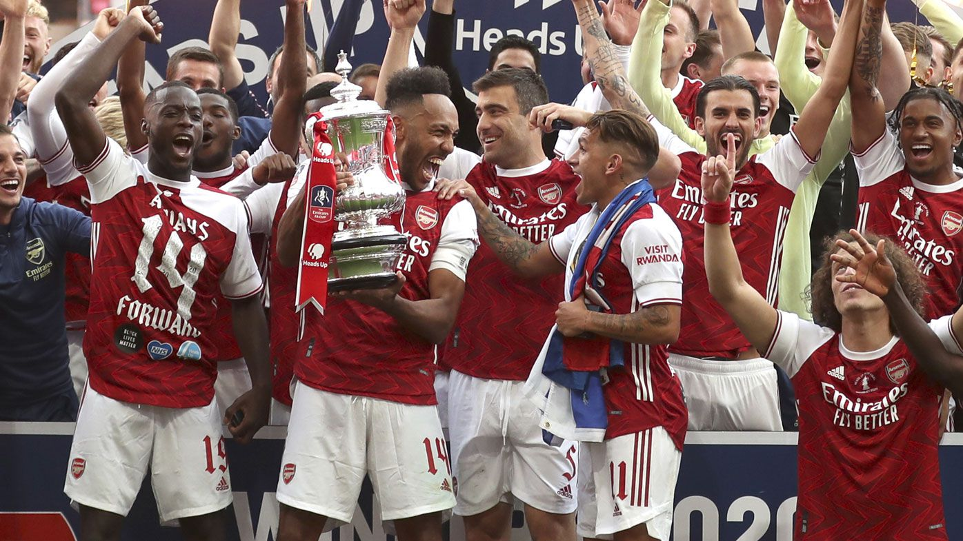 FA Cup final: Arsenal beat Chelsea 2-1, Pierre-Emerick Aubameyang scores both goals