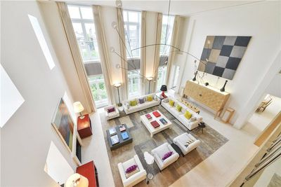 Soaring ceilings and natural light