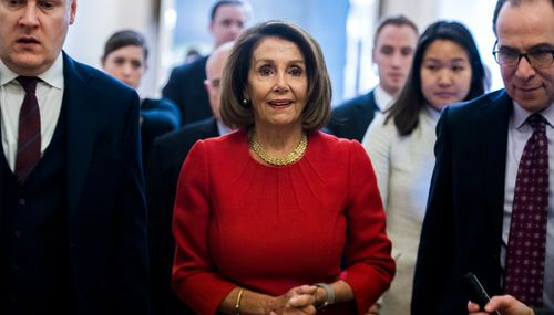 The move is the latest in a game of brinkmanship between Mr Trump and the House speaker as they remain locked in an increasingly personal standoff over Mr Trump's demand for border wall money that has forced a partial government shutdown that is now in its second month.