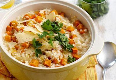 Wednesday: Roast pumpkin risotto