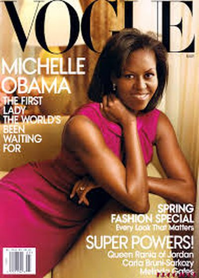 Michelle Obama for <em>US Vogue</em> March 2009<br> <br>
