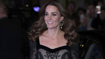 Kate Middleton at the Royal Variety Performance, November 2019