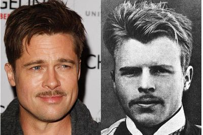 Brad Pitt ... back when he was a Swiss Freudian psychiatrist and psychoanalyst called Hermann Rorschach. We always knew there was more to Brad than a nice face.