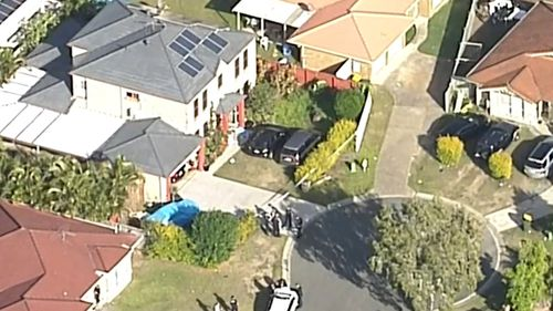 A man has been shot dead by police in Brisbane's south-west.