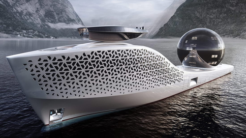 A proposed ship aims to merge luxury and scientific research, by crewing it with climate scientists and the wealthy in a daring quest to save the planet.