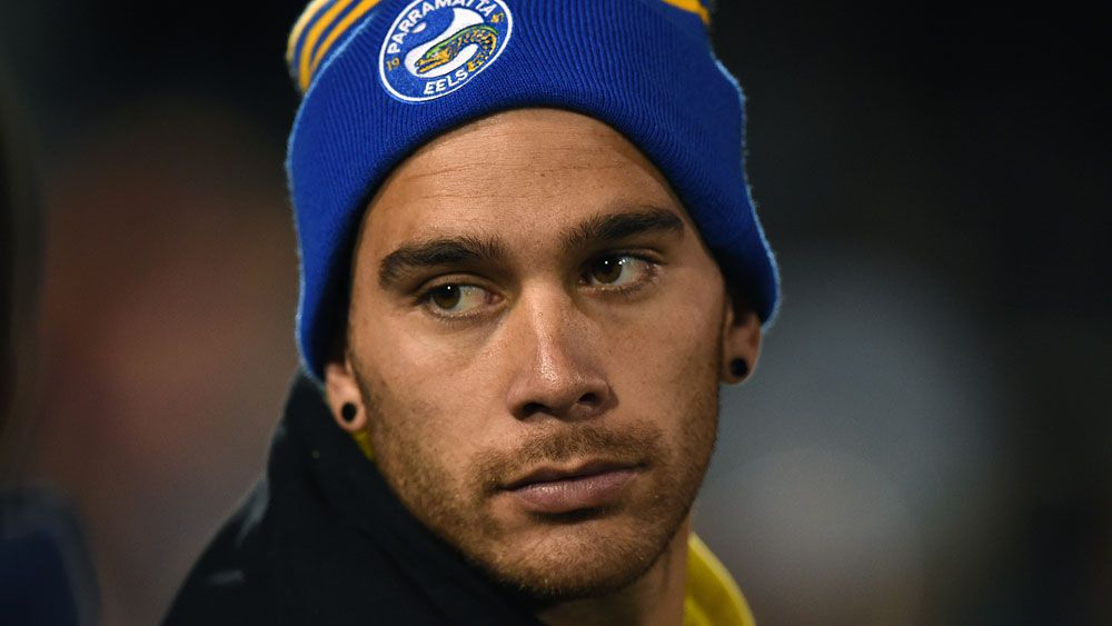 Corey Norman has re-signed with Parramatta. (AAP)