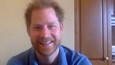 Prince Harry on video call from LA with WellChild during coronavirus pandemic