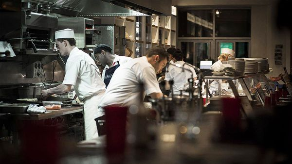 Kitchen staff at Federal Delicatessen (Facebook)