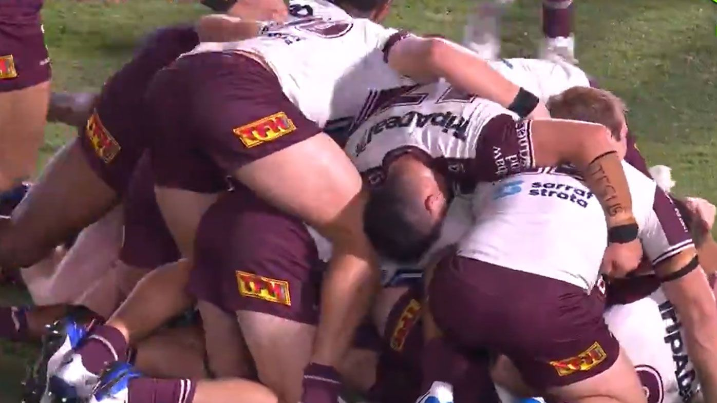 Skipper Daly Cherry-Evans hands Manly first win of 2021 with last-second field goal