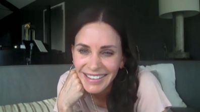 Courteney Cox on Ellen DeGeneres