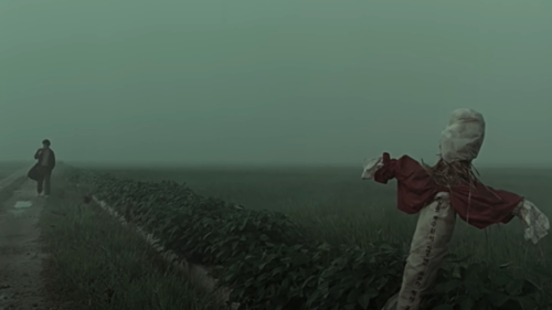 A still from the 'Memories of Murder' trailer.