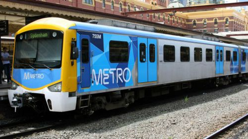 Glen Waverley, South Morang and Sunbury lines were among the most reliable, with less than 300 trains cancelled last year. (9NEWS)
